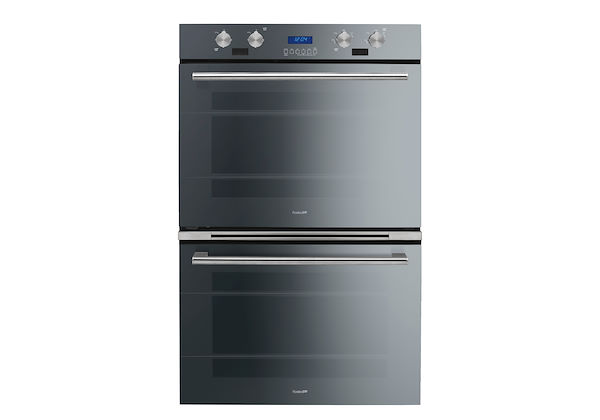 Oven Milano double Black Mirror 30″ - 7169 906