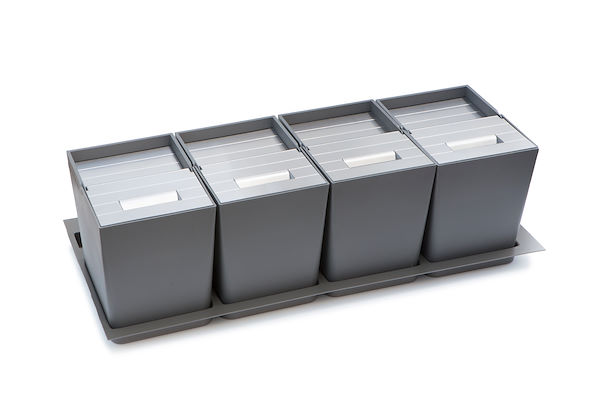 Four-bin kit for separate waste collection 8146 000
