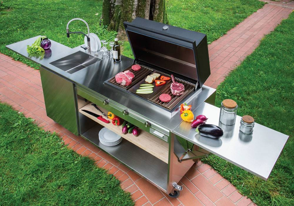 Finalmente BBQ with sink model